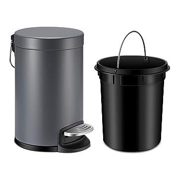 Amazon.com: YCTEC - Mini cubo de basura con tapa de cierre ...
