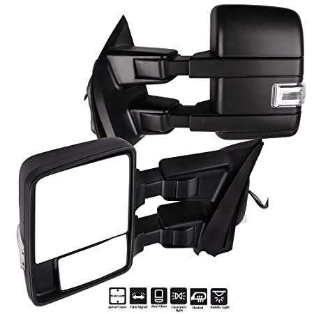 Amazon Com Eccpp F150 Towing Mirrors A Pair Of Exterior Automotive