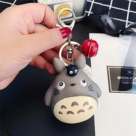 AMA-StarUK36 Totoro Muñeca Cartoon Llavero Desmontaje Rápido Desmontable Llaveros - 08