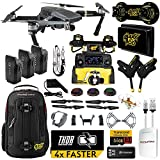 DJI Mavic PRO MaXX Mod Long Range Kit w/ Thor Charger, Carbon Fiber Blades, Backpack, Custom Bracket + Mount, 3 Batteries, Lens Filters & More