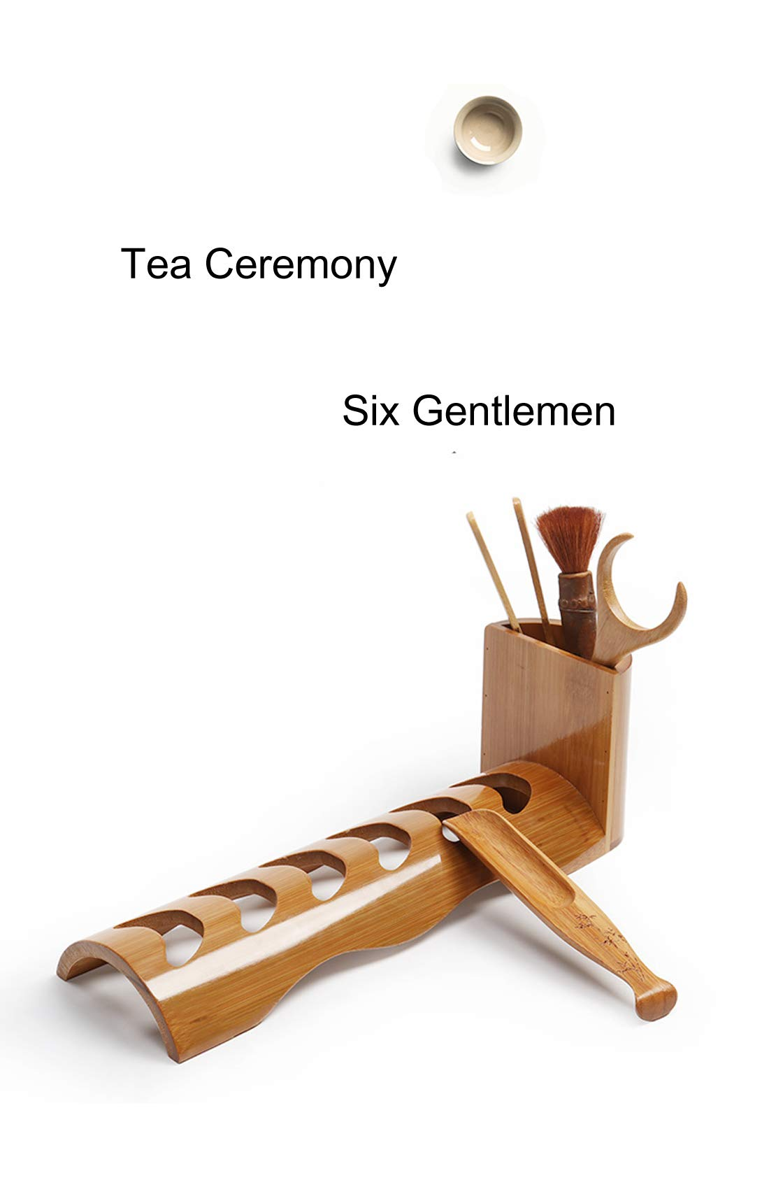 Lan Bo Tea Ceremony Six Gentlemen Tea Clip Set Tea Knife Tea Set Accessories Tea Spoon Cup Fork Home Decoration
