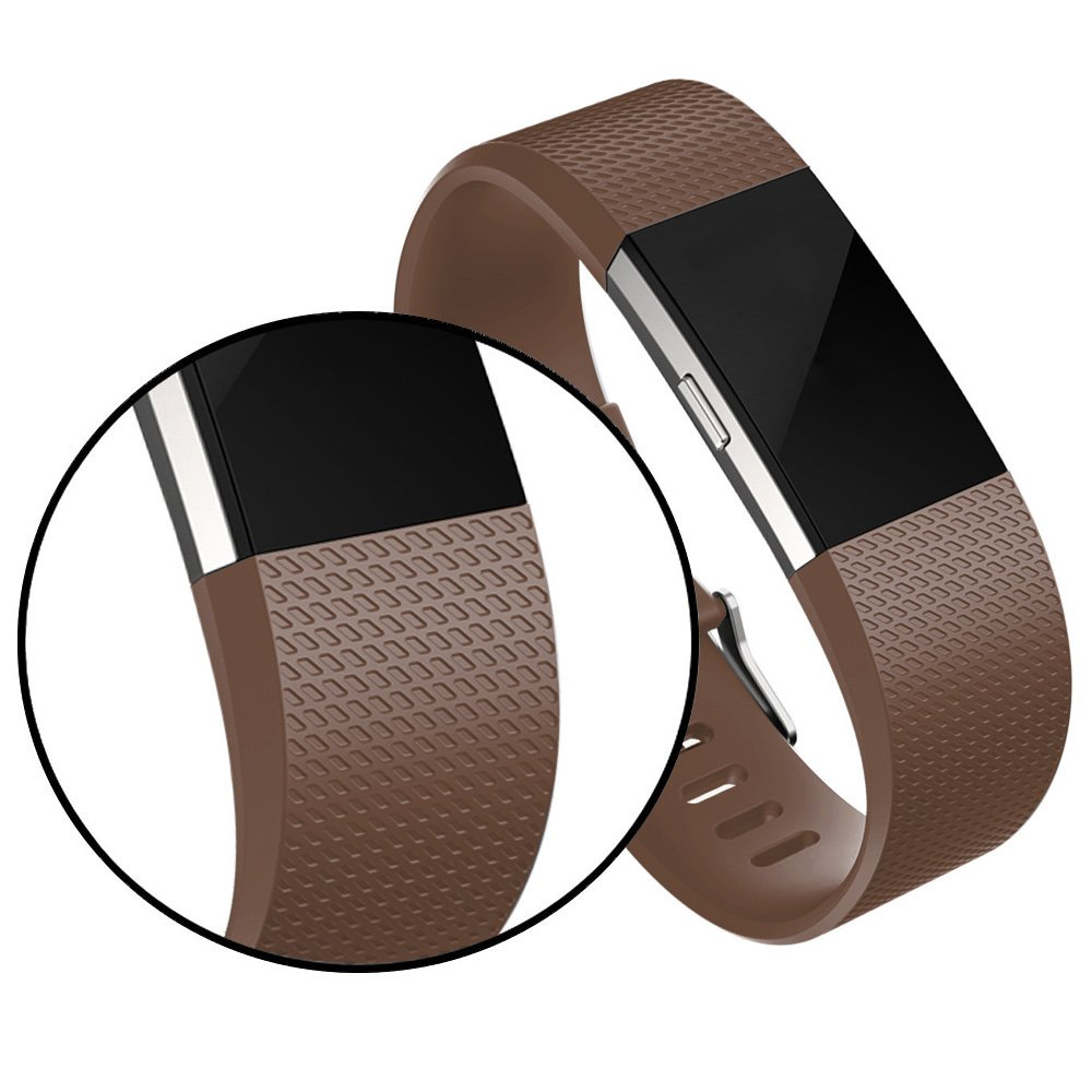 RedTaro Bands Compatible with Fitbit Charge 2,Fitbit Charge 2 Replacement Accessory Bands for Women//Men Elastomer Small Large