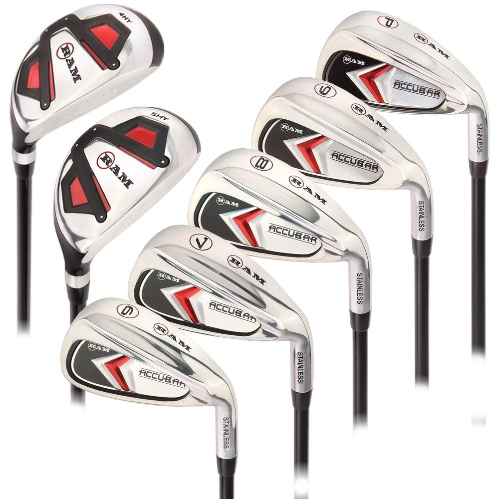 Ram Golf Accubar Mens Right Hand Clubs Iron Set