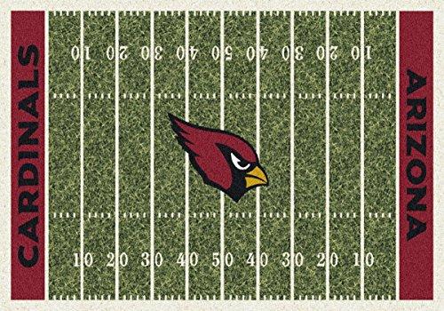 Arizona Cardinals NFL Team Home Field Area Rug by Milliken, 3'10