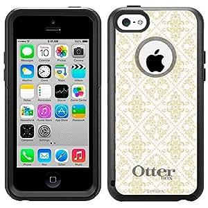 OtterBox Commuter Apple iPhone 5 5s Case - Victorian Gothic Beige on White OtterBox Case