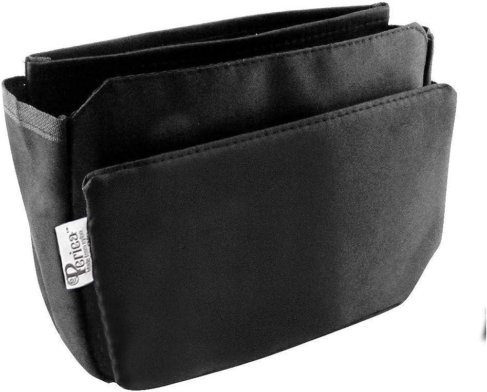 Periea 'Tegan' Handbag Organizer Purse Insert – for Smaller Handbags – 9 Pockets