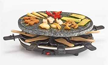 Cooks Professional Premium Rustic Stone Raclette Grill Hot Plate ... | {Raclette 74}