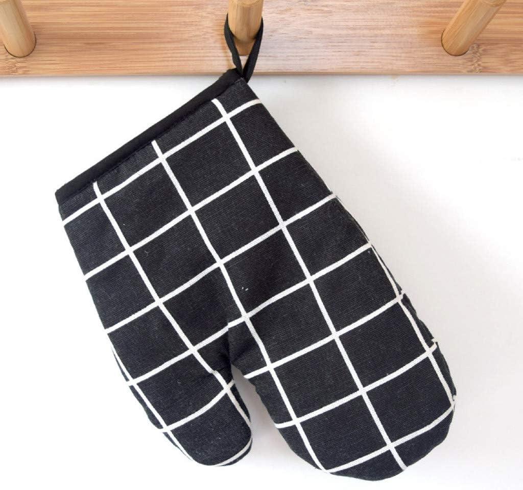 Serria/® Ofenhandschuh Hitzebest/ändig Topfhandschuhe Topflappen Handschuh,BBQ Backofen Handschuhe,Grillhandschuhe Backhandschuhe Kochhandschuhe Anti-Rutsch