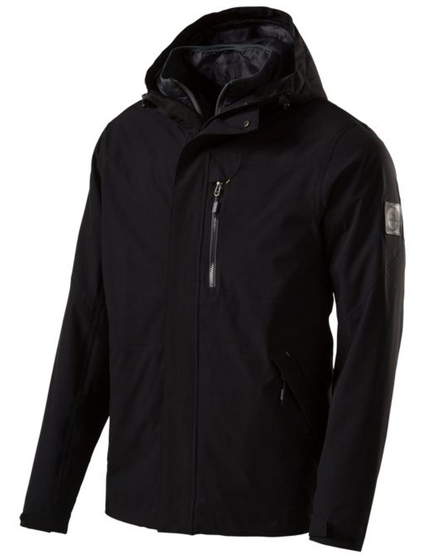 McKinley Herren Wander Freizeit Doppeljacke HUSLIA 3 in 1 Jacke schwarz