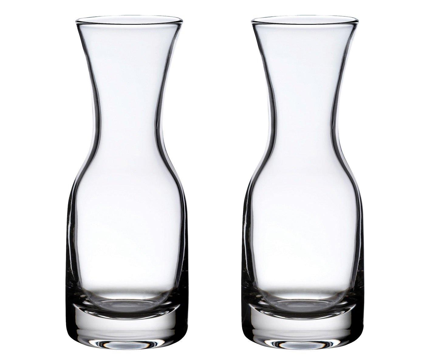 Lillian Rose Set of 2 Wedding Wine Carafes Table Decor G170