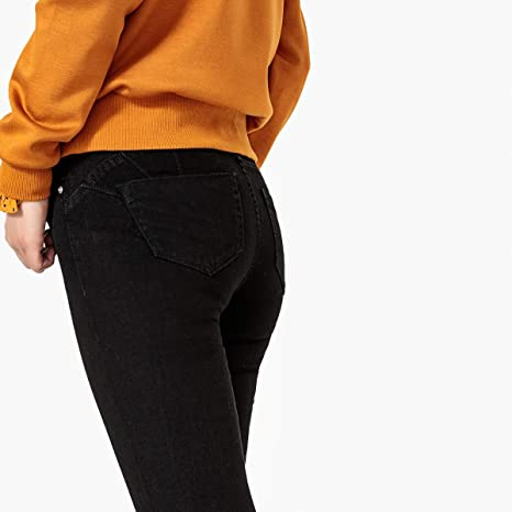 7faa6af67a20 La Redoute Collections Womens Slim Fit Push-Up Jeans