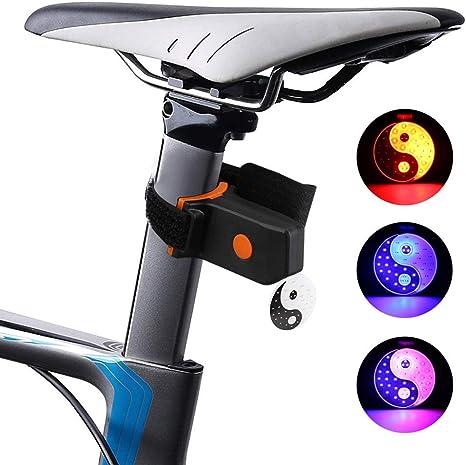 FYLY-Luz Trasera de Bicicleta, USB Recargable Faro Trasero Bici ...