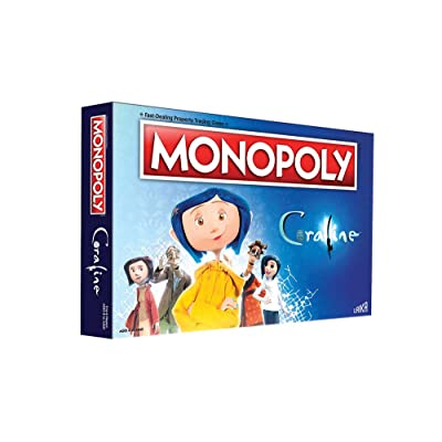Monopoly Coraline Board Game | Based on The Film from acclaimed Studio, Laika | Officially Licensed Coraline Merchandise | Themed Classic Monopoly Game: Toys & Games