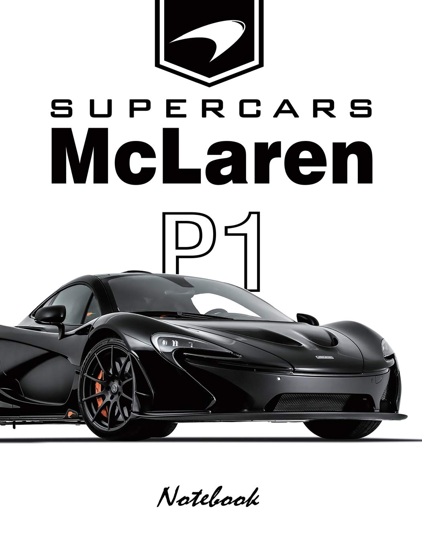 Amazon.com: Supercars McLaren P1 Notebook: for boys & Men ...