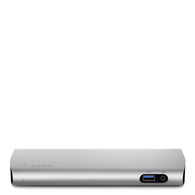 de1d1c7c4df Belkin Thunderbolt 2 Express HD Dock with 1-Meter Thunderbolt Data Transfer  Cable, Mac and PC Compatible (F4U085tt): Amazon.com.mx: Electrónicos