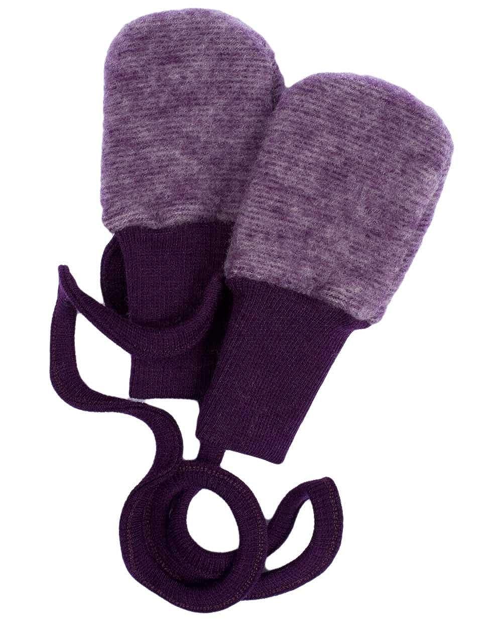 Cosilana, Baby Mittens, 100% Organic Wool 100% Organic Wool (1 Blue Melange) 46911