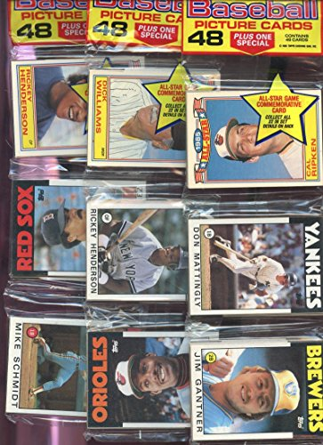 (1986 Topps Baseball Card Set 12 Rack Wax Pack Mike Schmidt Pete Rose Box STARS)