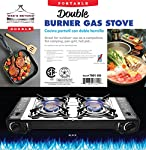 Wee's Beyond 7801-DD Gas Stove, Black
