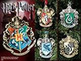 Harry Potter Hogwarts Christmas Ornaments - Set of Five
