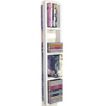 WATSONS ISIS - étagère murale de rangement CD DVD - blanc: Amazon.fr ...