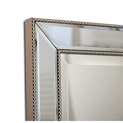 Svitlife Headwest Metro Beaded Recessed Medicine Cabinet - Silver/Champagne  - 16 x 26 Cabinet - Amazon.com: Svitlife Headwest Metro Beaded Recessed Medicine Cabinet