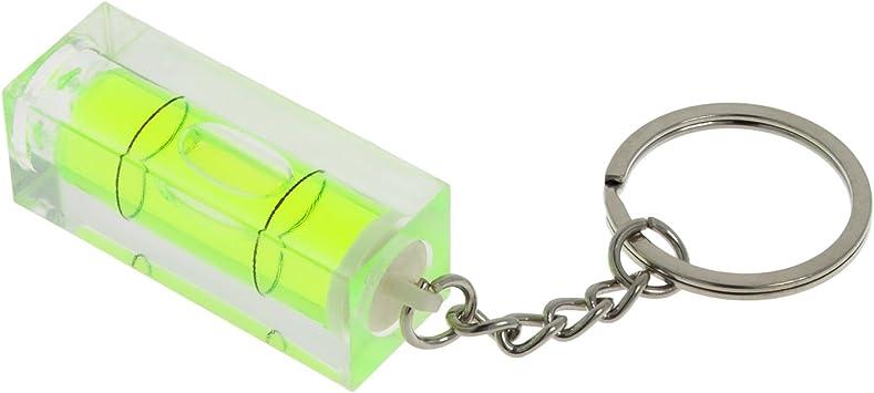 Smartfox Acryl Mini Wasserwaage Schlüsselanhänger 15x15 Mm 40 Mm Länge Baumarkt