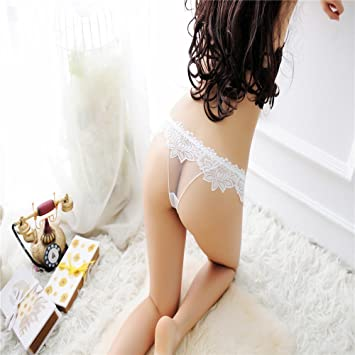 0befcc715c2 LOVEN Women Knickers Lace Massage Thon G String Underwear Ladies Underwear  Sexy Translucent Ultra Thin Lace