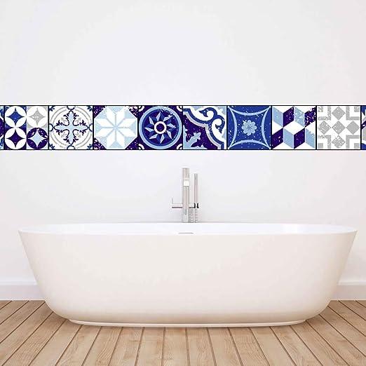 Tiles Sticker Removable Waterproof Tile Decal for Bathroom Kitchen Backsplash 3D