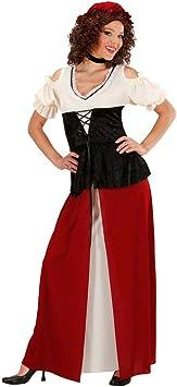 Disfraz de sirvienta de la Edad Media anfitriona brewmaiden Disfraz ...