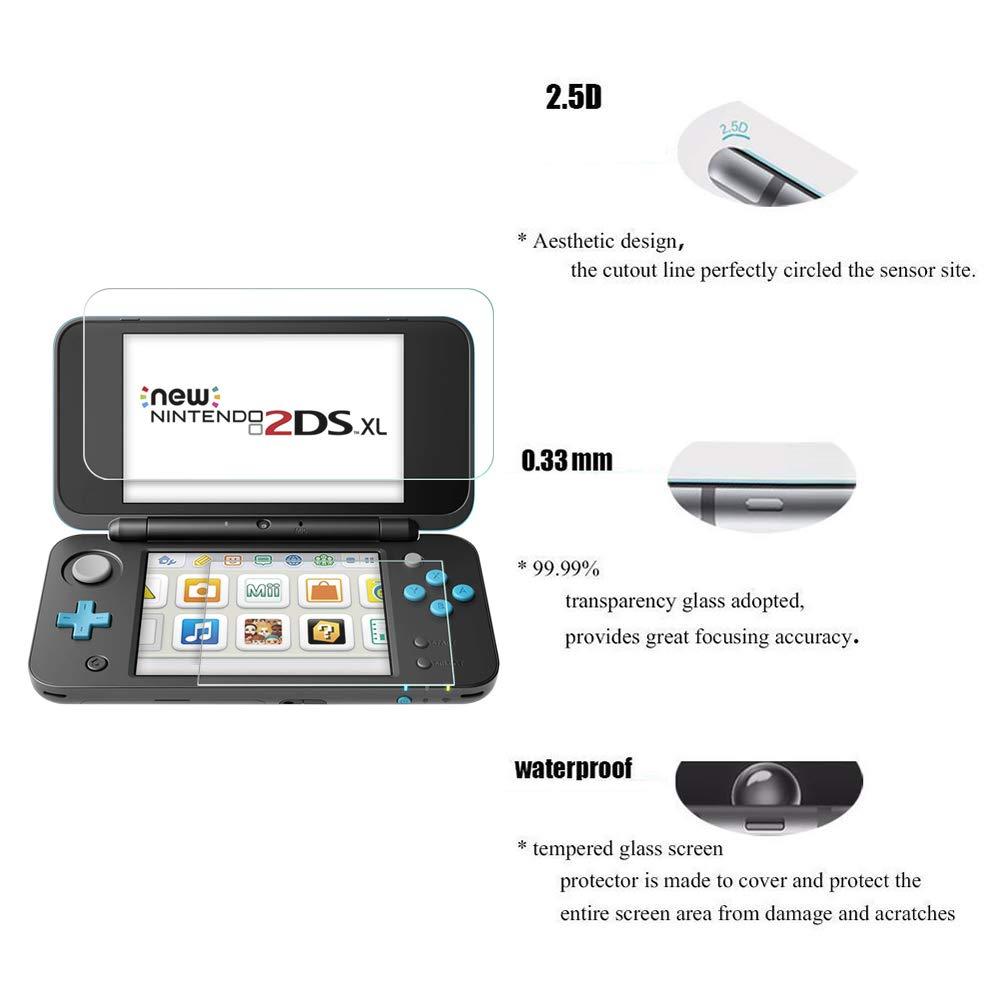 Amazon.com: Pack de 2 protectores de pantalla para Nintendo ...