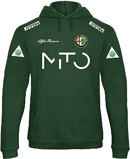 Sweats /à Capuche Alfa Romeo Alfasud Giulietta Mito Moto Rally Racing Course Rallye Pull personnalis/é Homme Sweatshirt Blanc MAX138