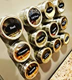 The Pineapple Pantry 12-Piece Magnetic Spice Tin