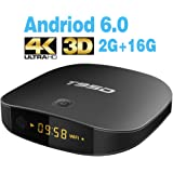 TRUEWELL T95D Android 6.0 tv box with 2GB RAM/16GB ROM Rockchip RK3229 Quad-core Support 2.4G Wifi 3D 4K Ultra HD BlueTooth improved version