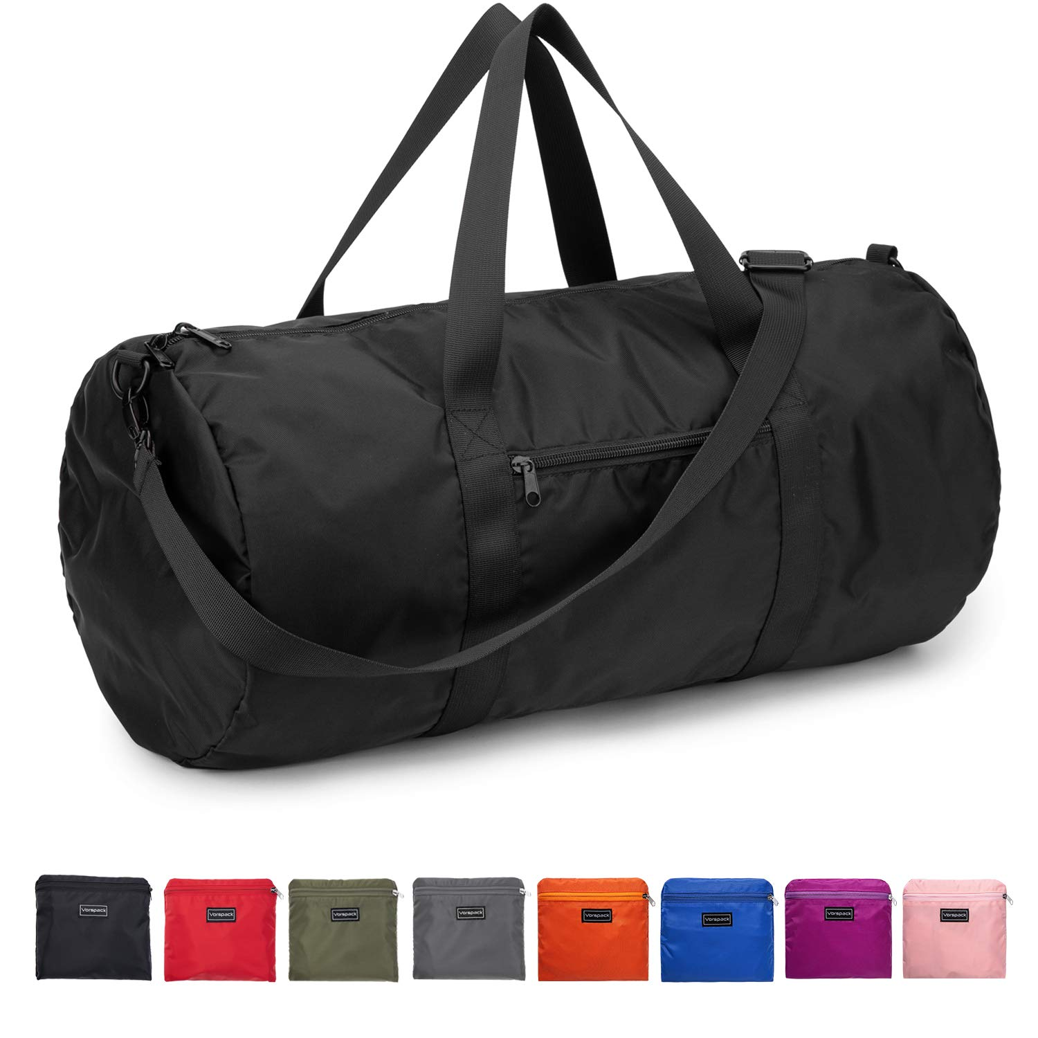 Duffel Bag 20-24-28 Inches Foldable Gym Bag for Men Women Duffle Bag Lightweight with Inner Pocket for Travel Sports