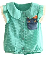 Mud Kingdom Girls Polka Dot Button Down Shirts
