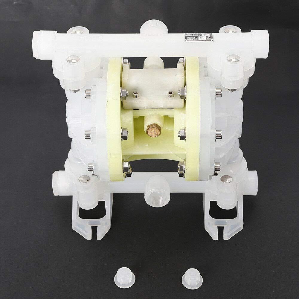 adatta per oli minerali a bassa viscosit/à pompa ad aria compressa 2m3//h WUPYI2018 pompa a membrana ad aria compressa pompa a doppia membrana 100psi