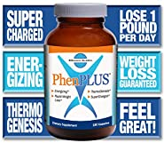 PhenPLUS - Energizing - Promotes Rapid Weight Loss - 180 CAPSULES - GUARANTEED