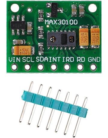 Lysignal MAX30100 Oxímetro de Pulso Módulo Sensor de Frecuencia Cardíaca para Arduino