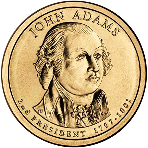 2007 D Adams Presidential Dollar Choice Uncirculated (Dollar Adams John Coin)