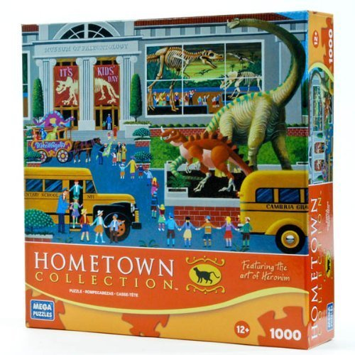 Hometown Collection: Dinosaur Museum 1000 Piece Puzzle