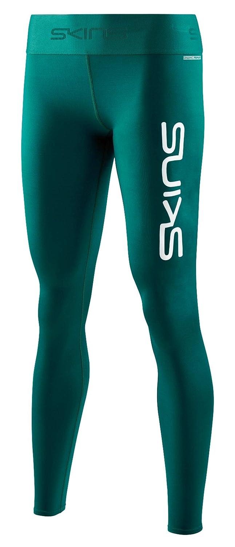 SKINS(スキンズ)レディース B07J3XGD13 ロングタイツ DNAmicPrimaryコンプレッション (Teal 速乾) Logo) (吸汗 速乾) (Teal [並行輸入品] Medium B07J3XGD13, ワカマツ:a7059792 --- cgt-tbc.fr