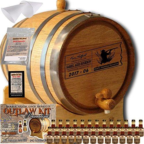 5 gallon oak wine barrel - 7
