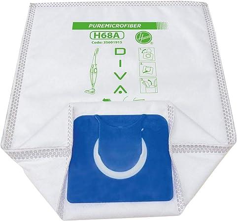 H68A Hoover Sacchetto per aspirapolvere Pure Epa