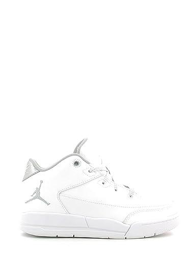on sale 4e2cf 74349 Jordan Flight Origin 3 Little Kids Style, White Metallic Silver White, 1