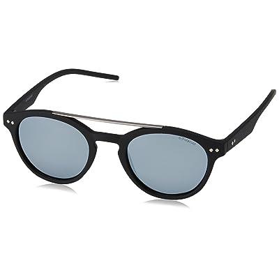 Polaroid PLD 6030/S EX 003 gafas de sol, Negro (Matt Black/Greyslv Fl Pz), 50 Unisex-Adulto: Ropa y accesorios