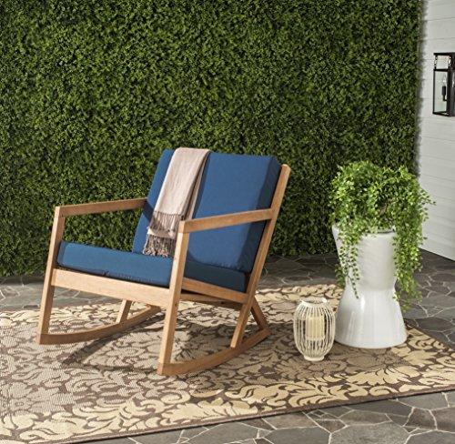 Safavieh PAT7013C Outdoor Collection Vernon Rocking Chair