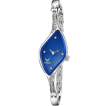 Buy Fogg 4060 Bl Ethnic Blue Bracelet Look Watch For Women Online