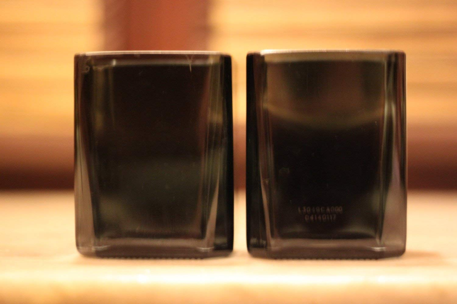 Johnnie Walker Double Black Tumbler Glass Made From Recycled JW whiskey bottle