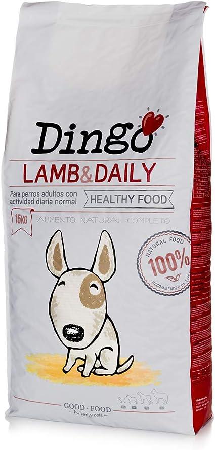 Dingo adult Lamb 15 kg Alimento Natural seco.: Amazon.es: Productos para mascotas