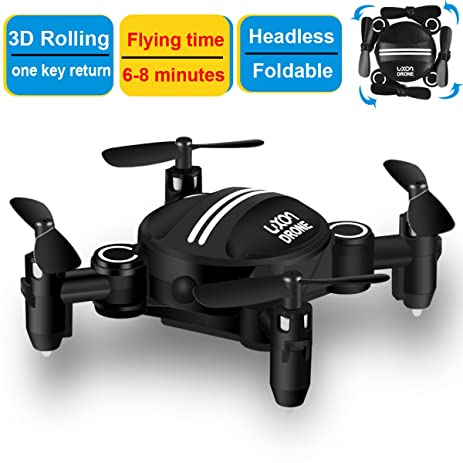 Drone RC Mini Drones For Kids Headless Quadcopter With Foldable Remote Control Helicopter 24GHz